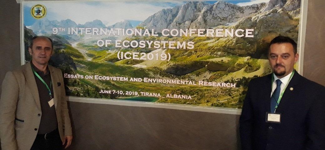 Profesorët e UBT-së morën pjesë në konferencën ndërkombëtare të Ekosistemeve