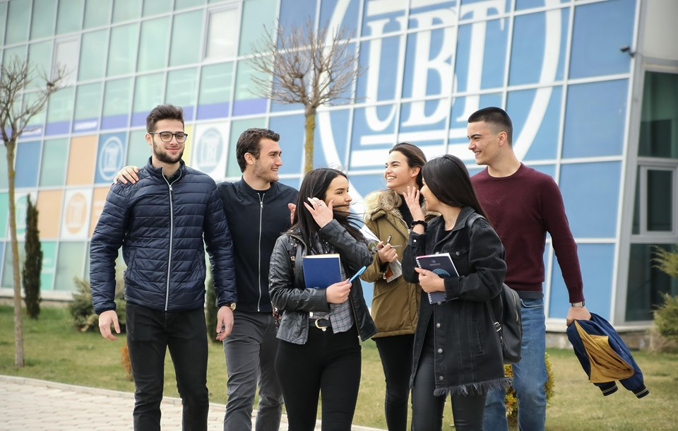 UBT has the highest rate of employability of its students inside the institution