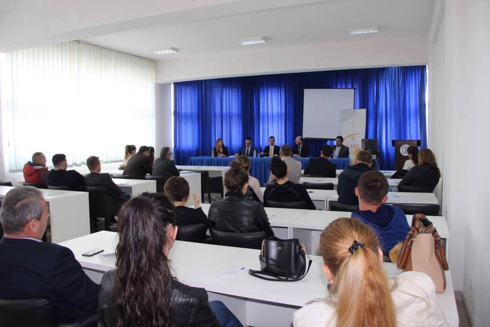 At Kolegji Arbëri – UBT was held an informative session about free legal aid
