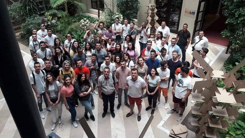 Studentët e UBT-së realizojnë vizitë studimore në Turqi
