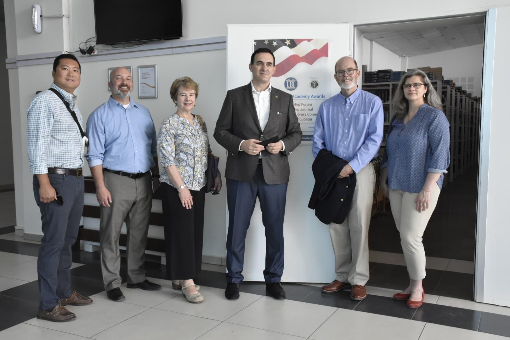James Madison University shpreh interesim për të nisur bashkëpunimin me UBT-në