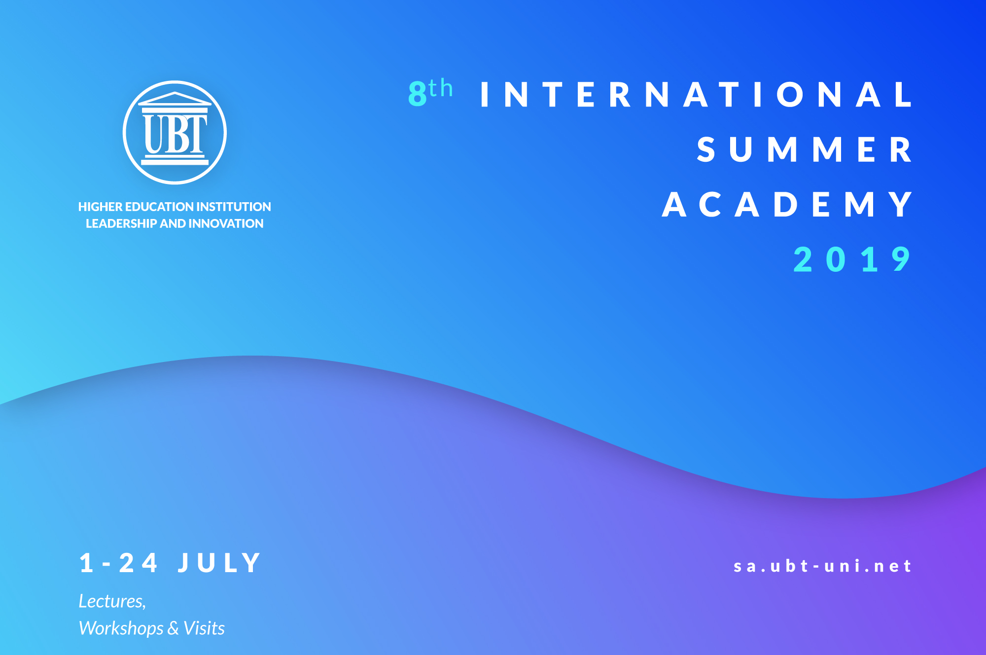 In July will start the International Summer Academy of UBT