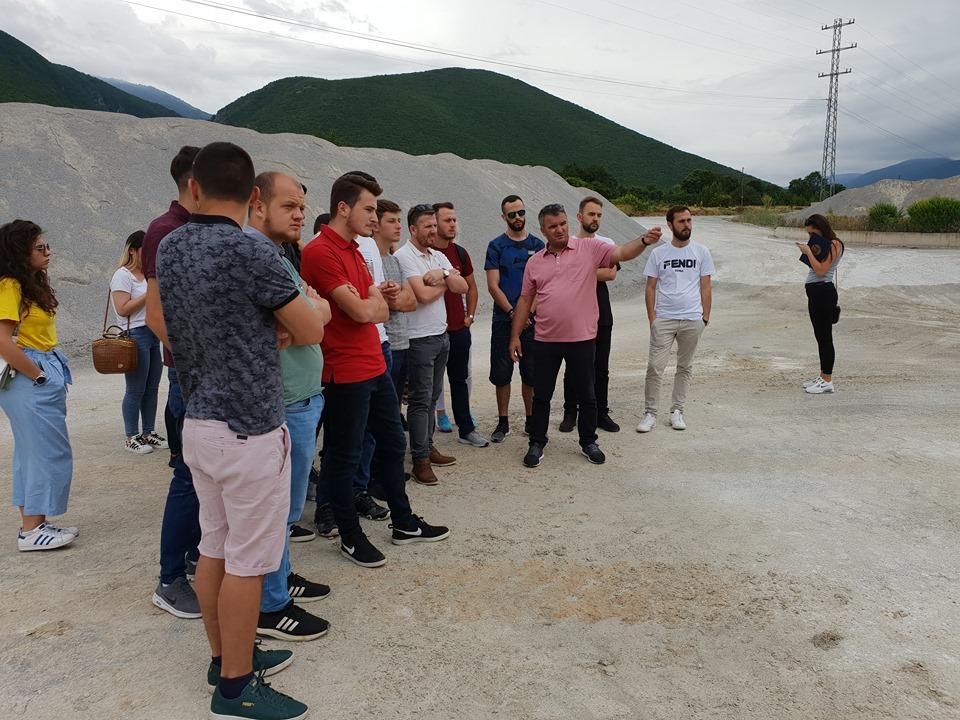 Në ANV-në e Ndërtimtarisë zhvillohen vizita studimore