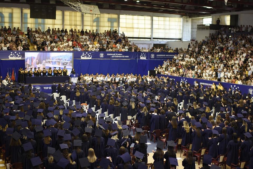UBT mbajti ceremoninë e diplomimit për vitin akademik 2018/2019