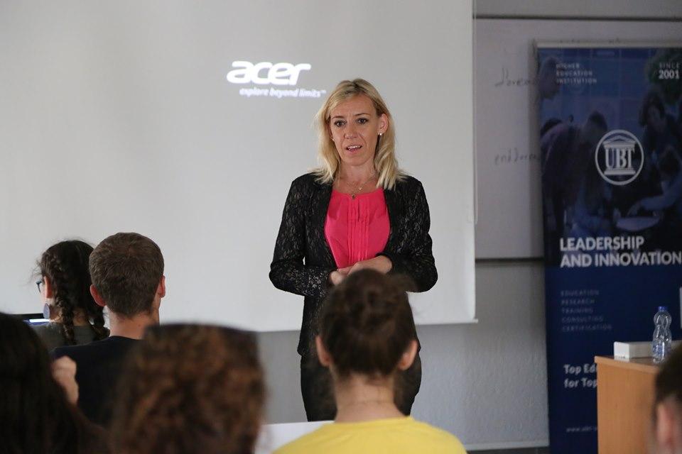 Në ANV-në e Sistemeve të Informacionit ligjëron profesoresha nga Polonia, Anna Soltysik Piorunkiewicz