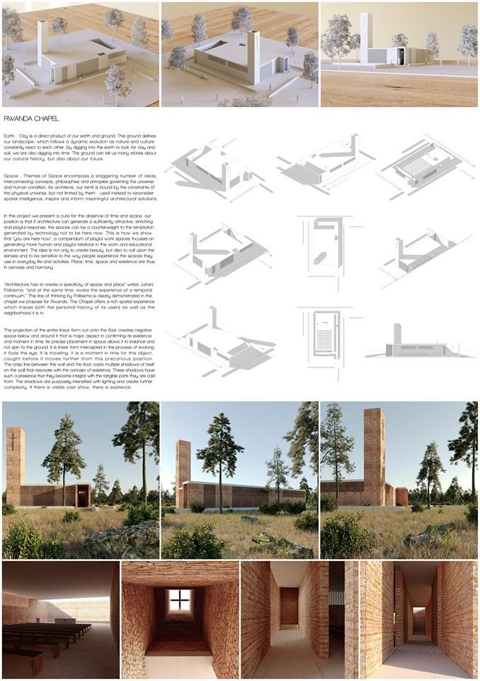 """Studentët e UBT-së, triumfues në konkursin arkitektonik ndërkombëtar, """"Rwanda Chapel"""""""