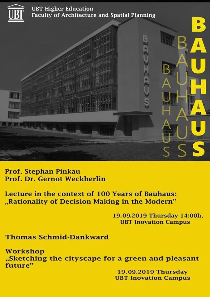 NJOFTIM: Nesër, profesorët nga Gjermania do të mbajnë ligjëratë dhe punëtori me studentët e Arkitekturës