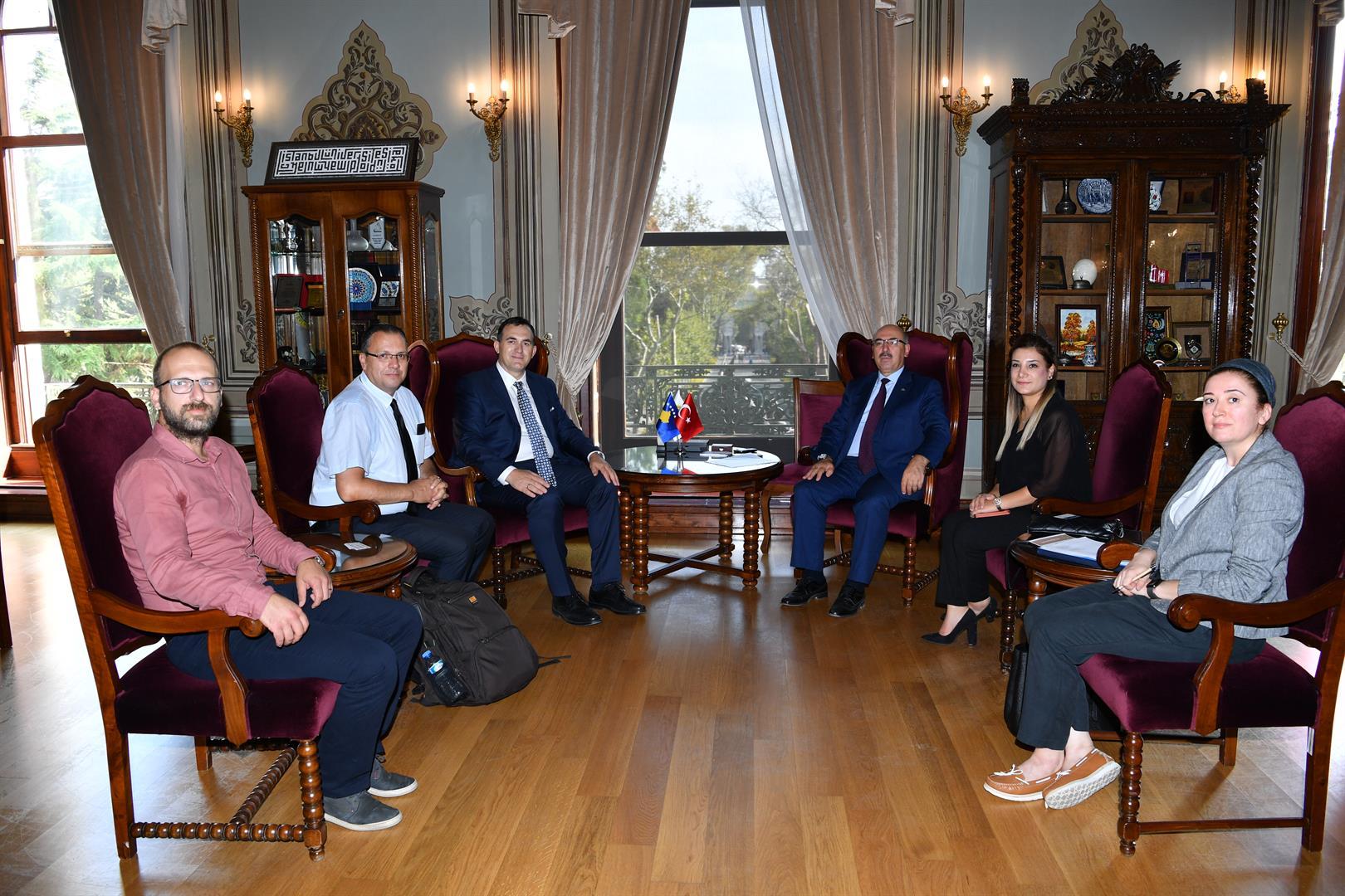 UBT lidh bashkëpunim me Universitetin e Stambollit