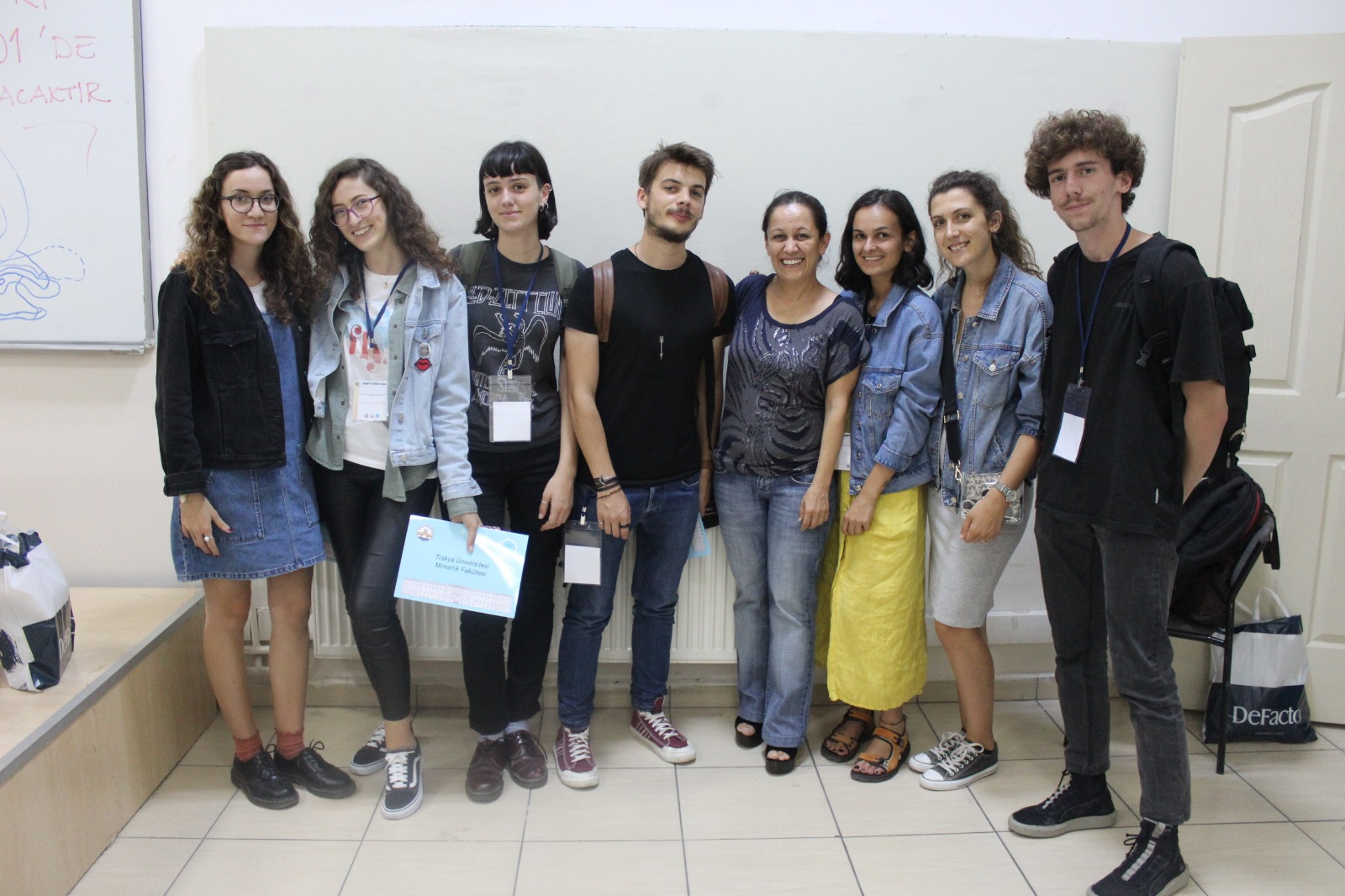 UBT students have participated in the workshop of architecture in Turkey