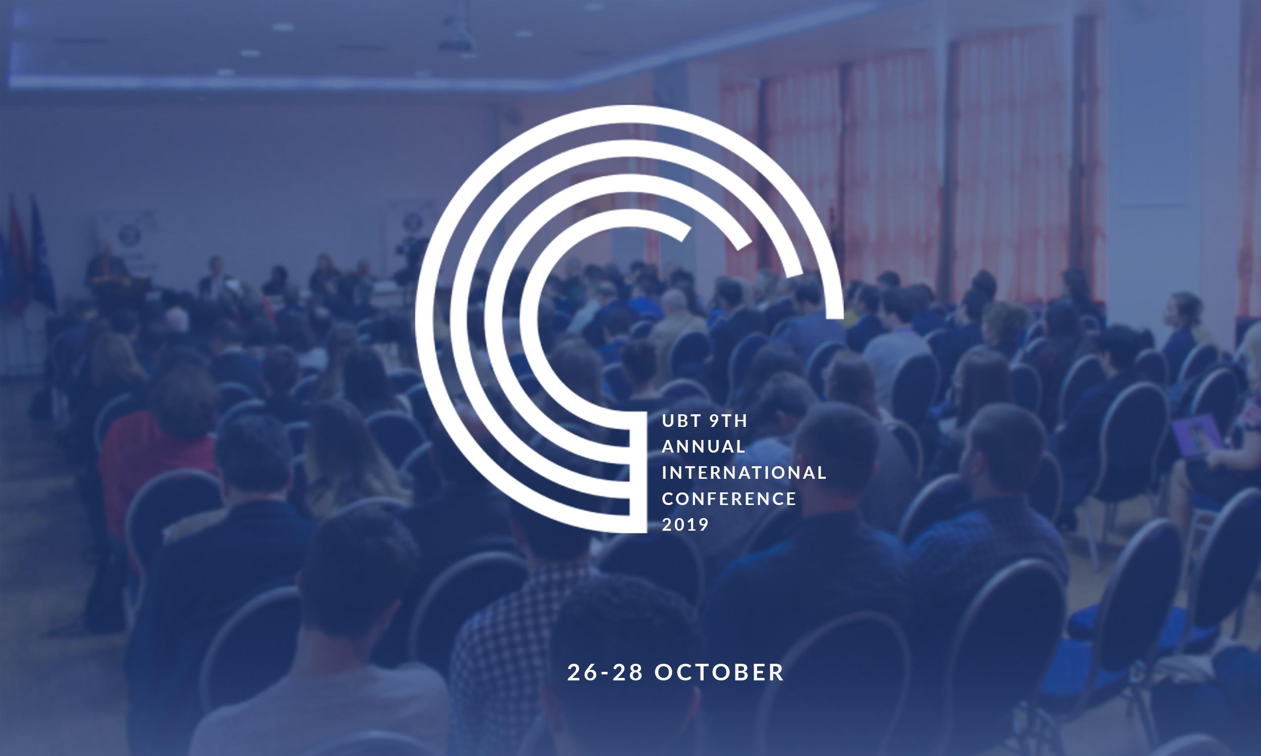 UBT po vazhdon të pranojë abstraktet për Konferencën Ndërkombëtare 2019