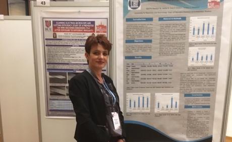 UBT professor has presented her scientific paper in the International Congress of Endodontists 19/09/2019