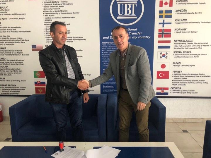 """UBT lidh memorandum bashkëpunimi me kompaninë """"BEO"""""""