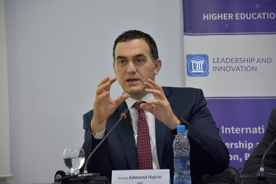 """UBT Rector Hajrizi has participated in the conference """"Universities as Drivers of European Innovation Ecosystems"""""""