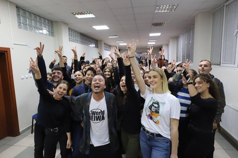 """The peace activist Yuichiro Morishita opened the """"Japanese Week in Kosovo"""""""