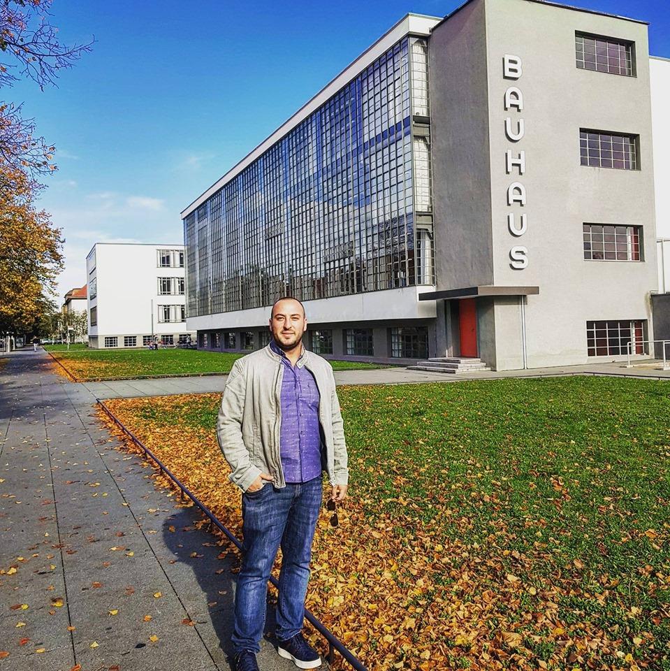Studenti i UBT-së, Faton Sertolli, përfitues i bursës për vazhdim të studimeve në Anhalt University of Applied Sciences