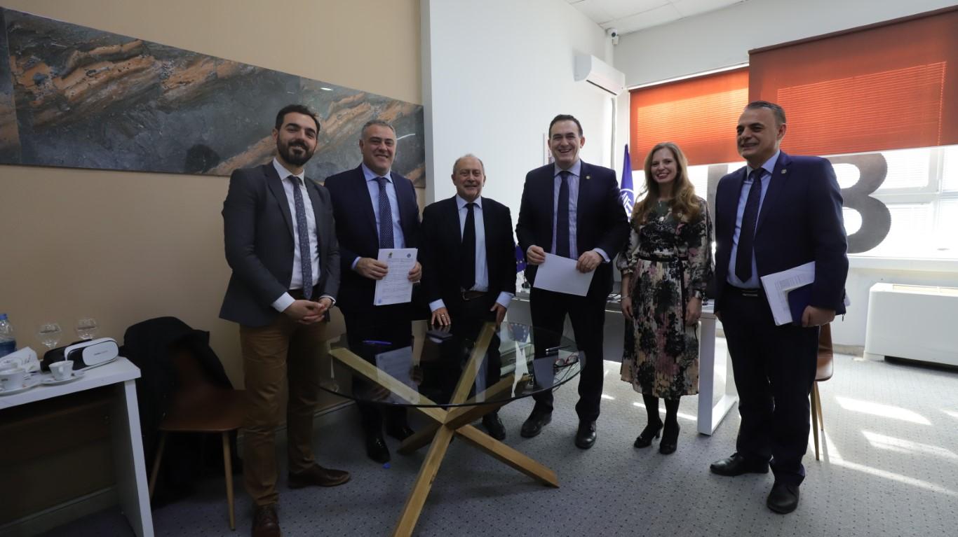 UBT nënshkruan marrëveshje bashkëpunimi me Universita degli Studi del Sannio
