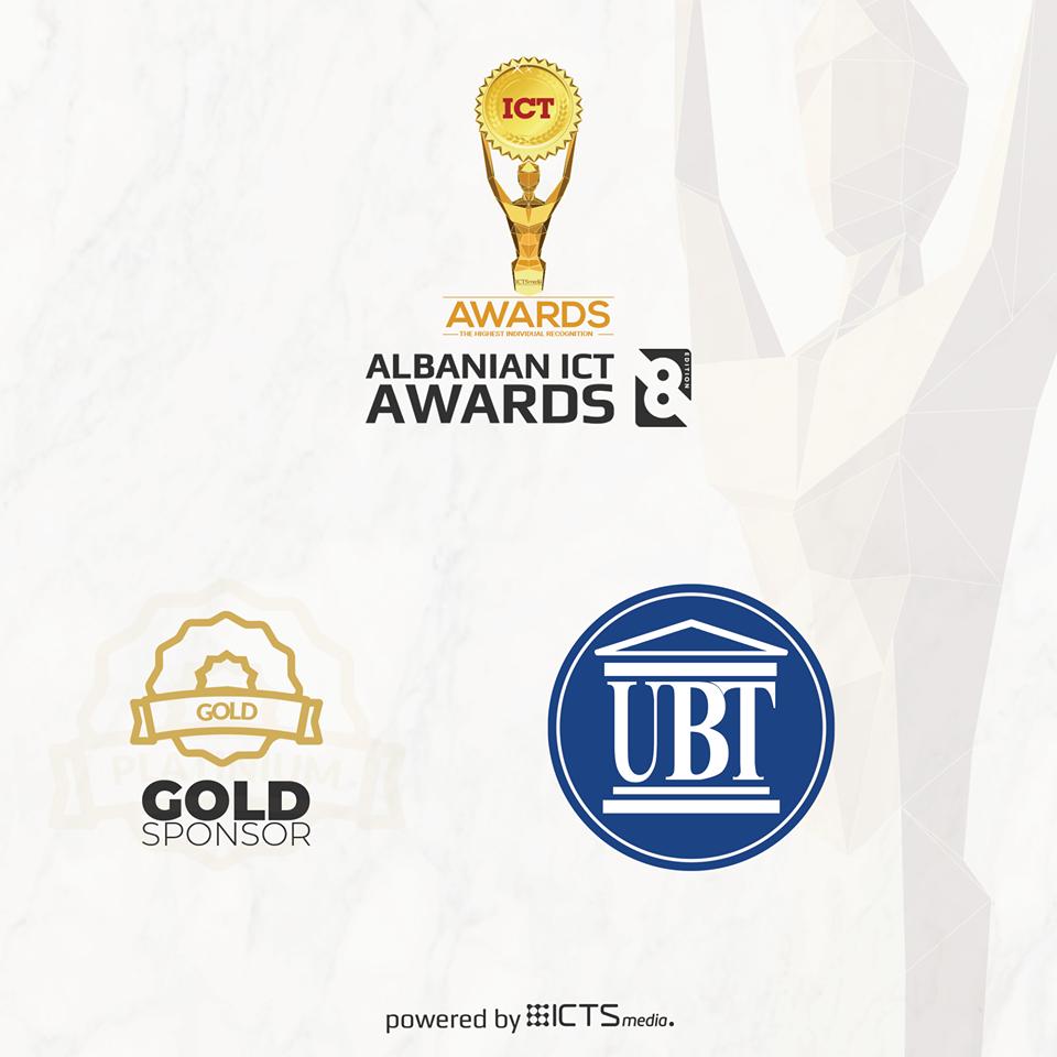"""Fillon rrugëtimin gara """"Albanian ICT Awards"""", UBT një nga mbështetësit kryesor"""