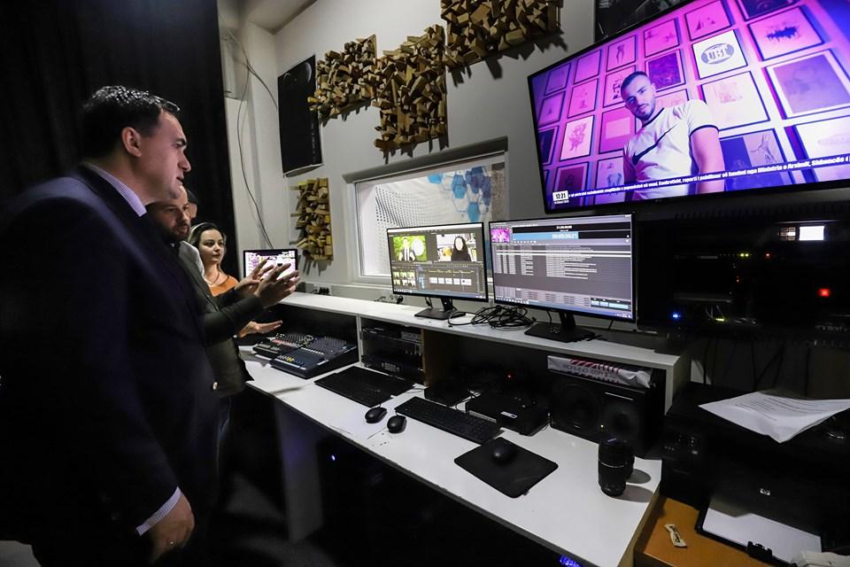 Televizioni i UBT-së me pajisjet më moderne në Kosovë