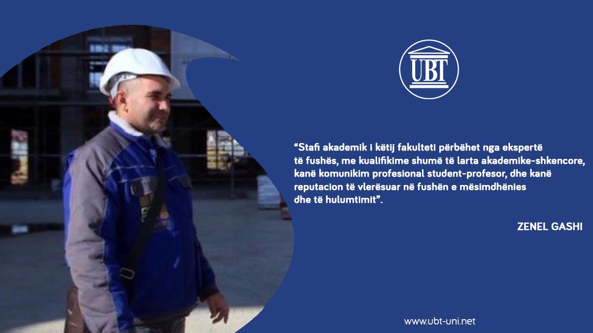 UBT, vendi i përgatitjes akademike në profesionin e inxhinierisë