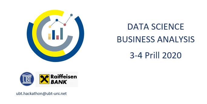 "UBT dhe Raiffeisen Bank organizojnë garën ""Data Science Business Analysis"""