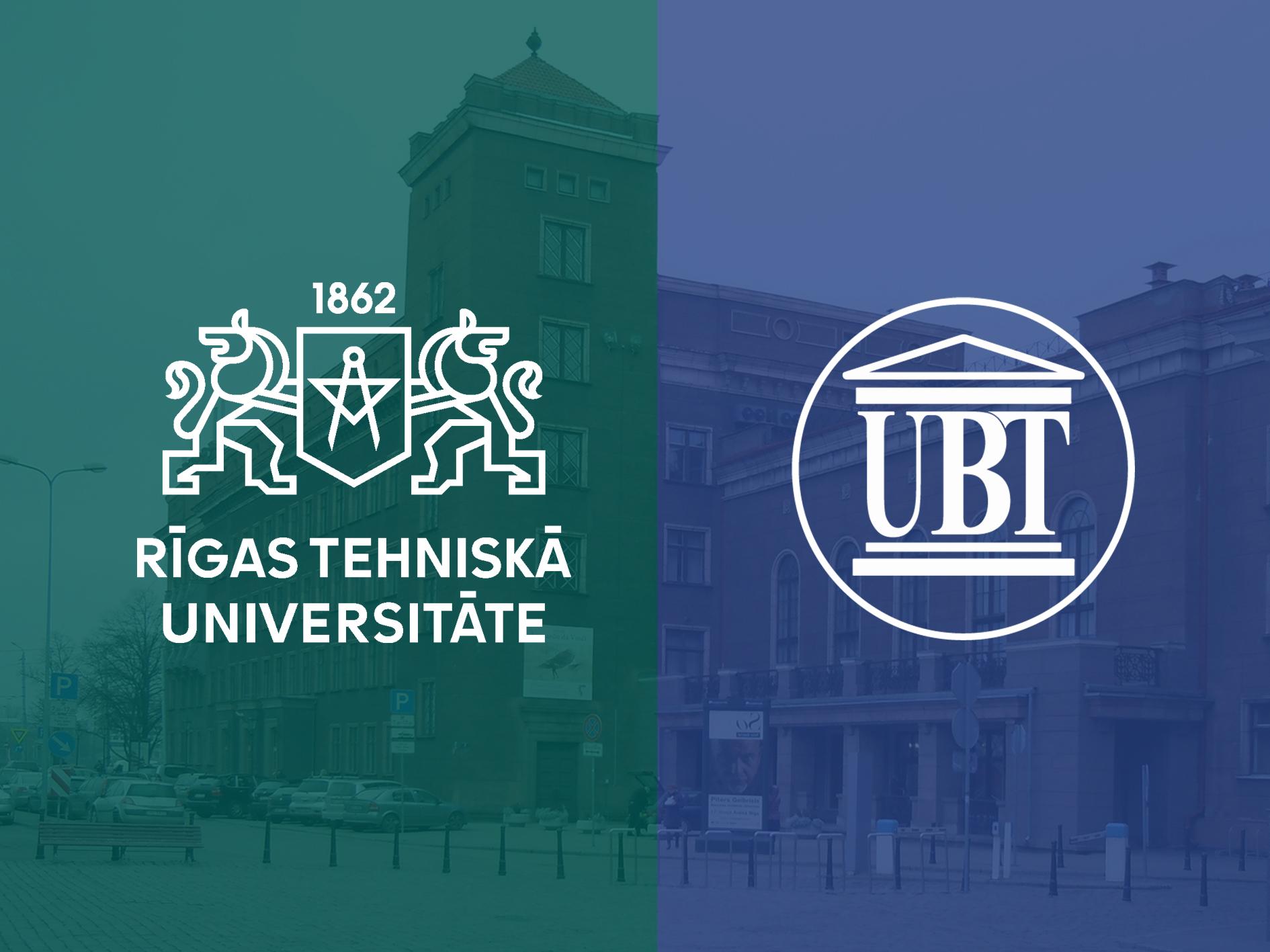 """UBT zgjeron partneritetin në Letoni, nënshkruan marrëveshje me Universitetin """"Riga"""""""