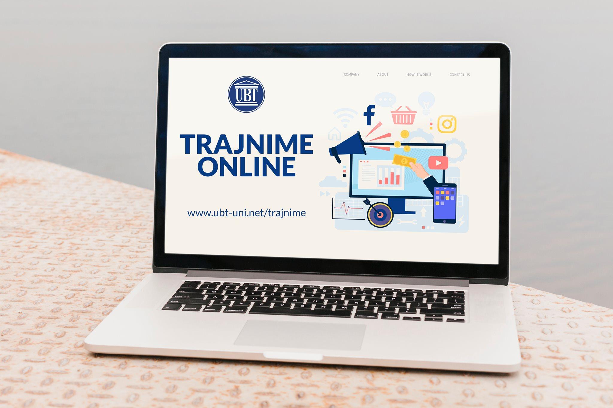 UBT organizon trajnime online