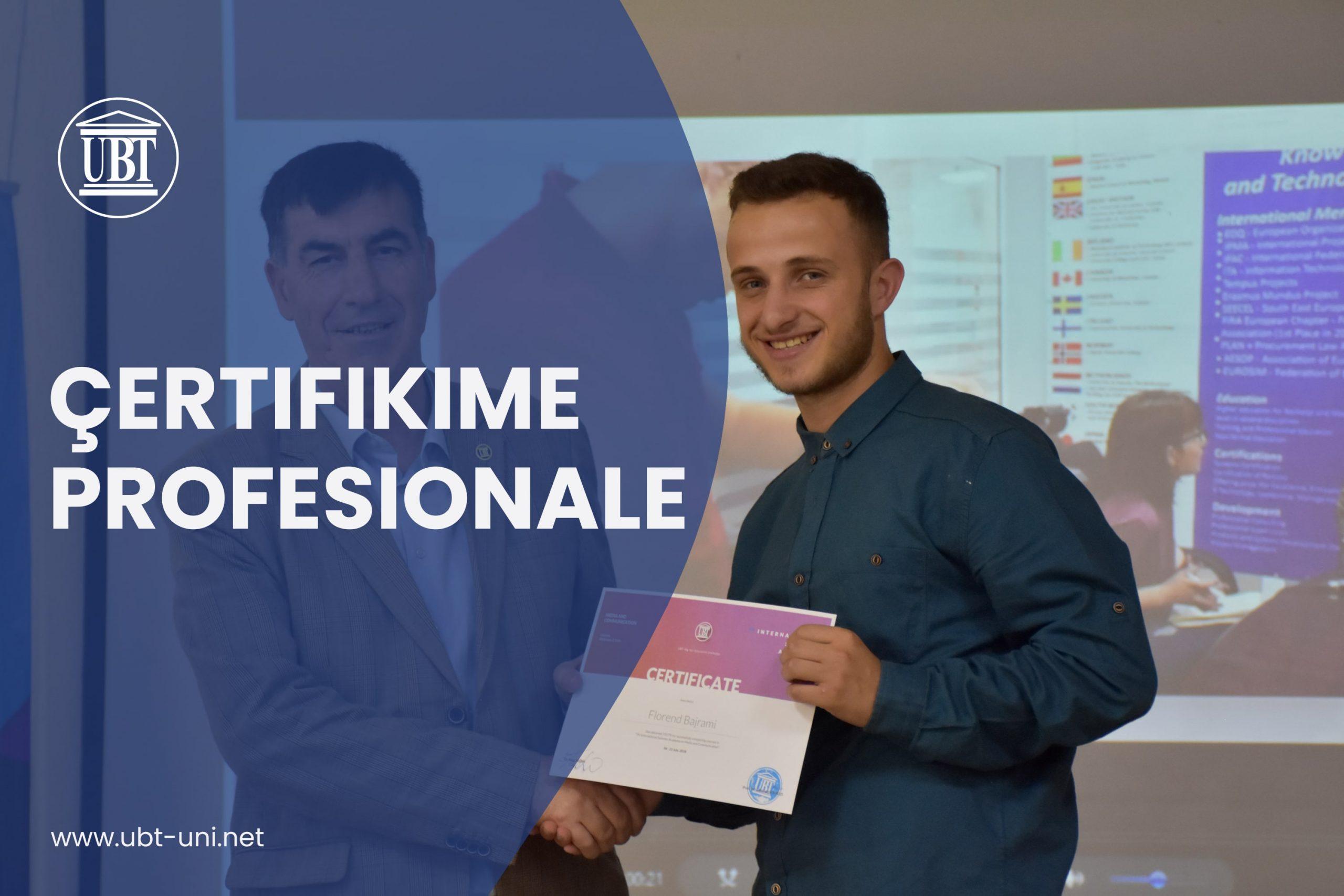 Çertifikime Profesionale