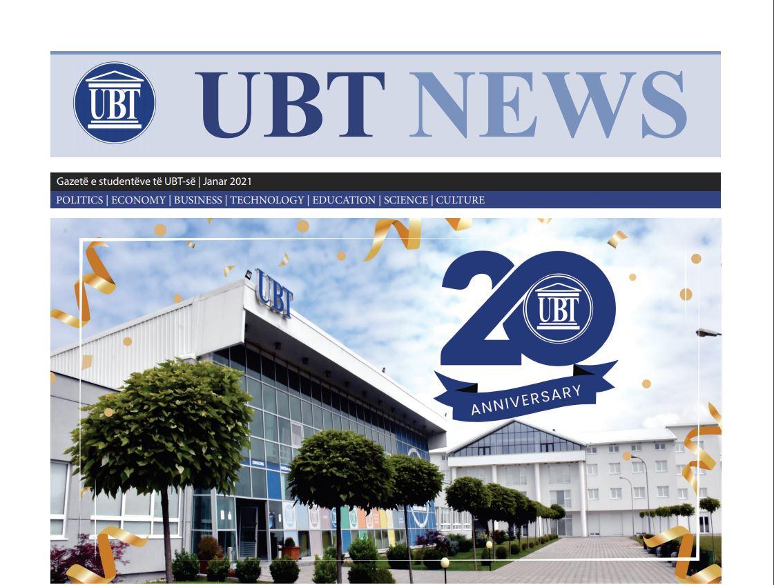 UBT News, Janar 2021