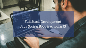 Full Stack Development (Java Spring Boot & AngularJS)
