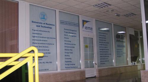 2001.Zyrat e para të UBT-së ne Qendrën Zejtare në Kodër të Diellit
