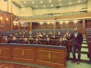 Vizitat e Fakultetit Shkenca Politike