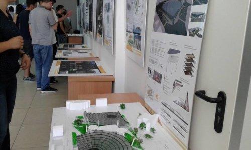 Ekspozita e studentëve të Arkitekturës pret vizitorët e Akademisë Verore 2016