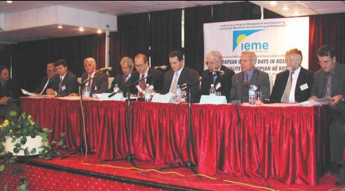 Konferenca e pare shkencore nderkombetare e organizuar nga IEME