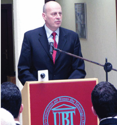 Kryeministri Agim Ceku mban fjalen hyrese ne forumin e dyte nderkombetar 2006